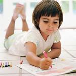 Online coloring pages: When education meets entertainment for child development