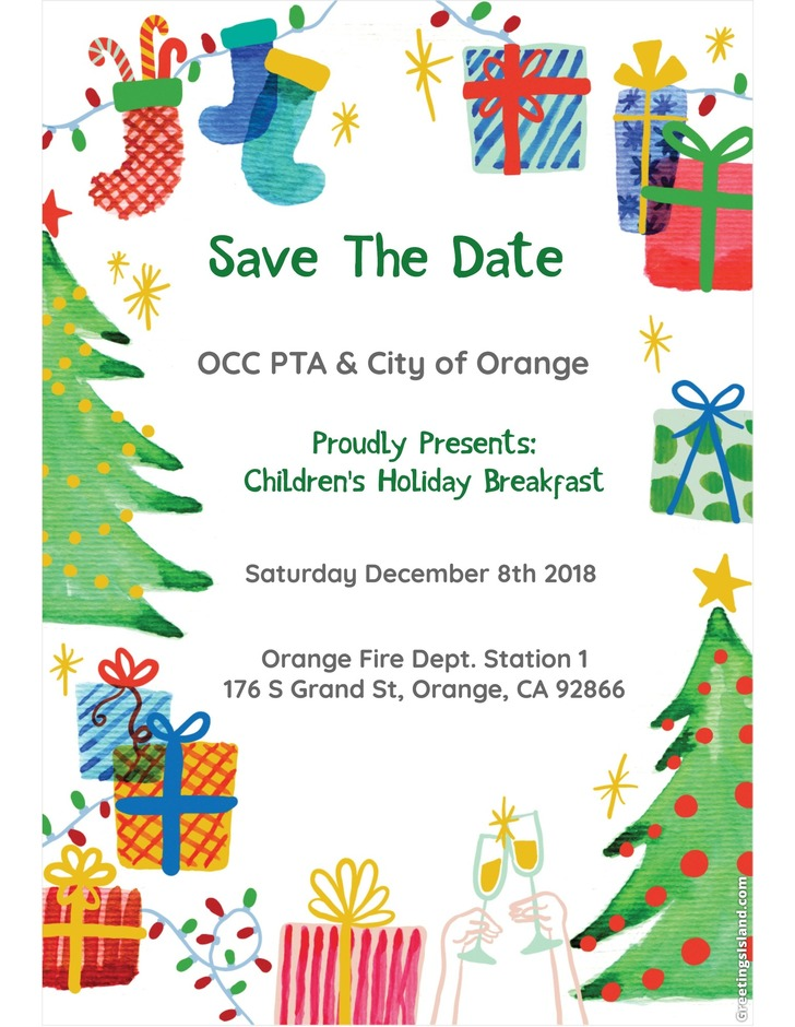 children holiday breakfast