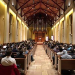 Photos from Fr. Lawrence's address at Furman University chapel in South Carolina