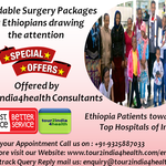 Affordable Surgery Packages for Ethiopians drawing the attention of Ethiopia Patients towards the Top Hospitals of India