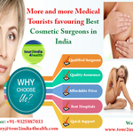 More and more Medical Tourists favouring Best Cosmetic Surgeons in India