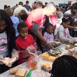 MLK Day Family Service Project