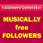 Website to generate Musically followers for free