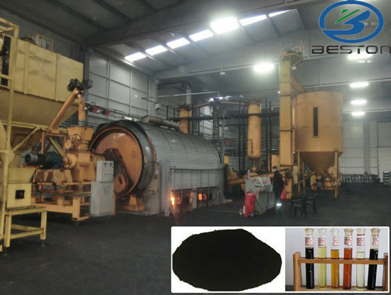 Pyrolysis Oil From Waste Plastic