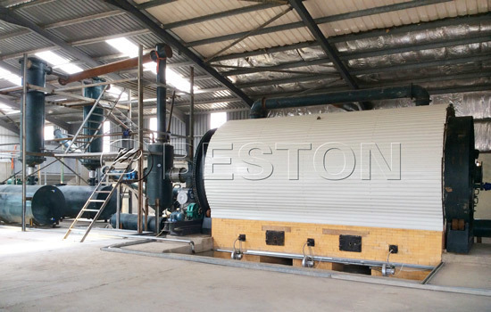 Reasonable tyre recycling plant cost