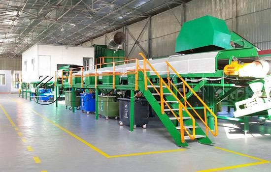 Beston waste recycling plant installed in Uzbekistan