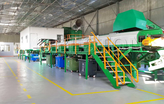 Beston automatic waste sorter sold to Egypt