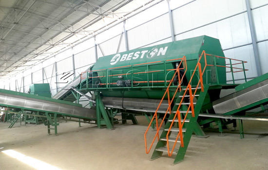 Beston Automatic Waste Sorting Machine for Sale