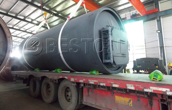 Shipment of Besto Plastic Recycling Plant in South Africa