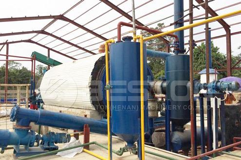 Beston Waste Tire to Oil Machine