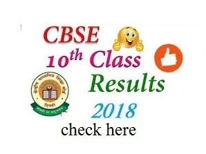 CBSE Board 10th Class Result 2018 Name Wise