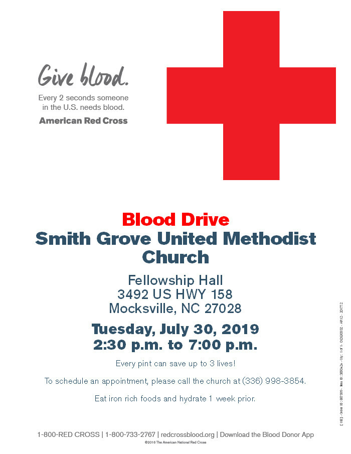 SMITH GROVE BLOOD DRIVE