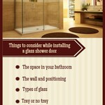 Tips for keeping your glass shower doors clean
