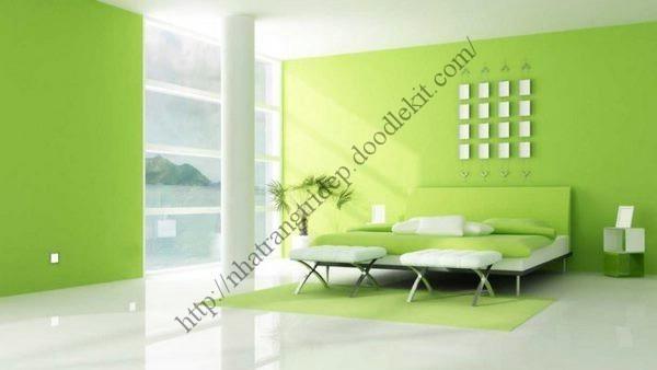 Cách pha màu xanh lá cây chuẩn, dễ dàng với mọi loại sơn - Chia sẻ kinh nghiệm trang trí nhà cửa đẹp bằng Sơn : powered by Doodlekit