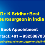Dr. K Sridhar Best Neurosurgeon in India Has Been Taking Care of Patients From Around the World