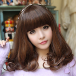 Wig hairstyles are selected according to face shape