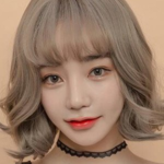 Secondary hair dyeing hairstyle