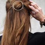 Trendy girls tie hair style