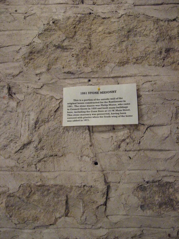 Original Outside Wall Masonry