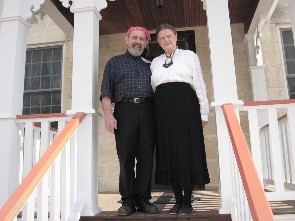 Ken & Shirley #8 on porch 2019