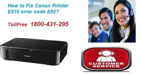 Required steps to fix Canon E510 Error Code E02?