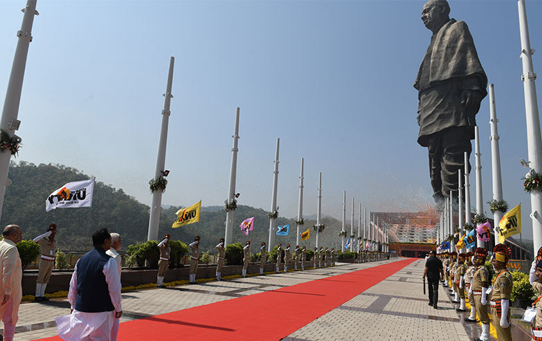 statue of unity tallest statue