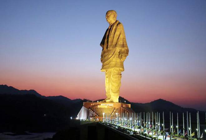 The World Tallest Statue, 182 Metres