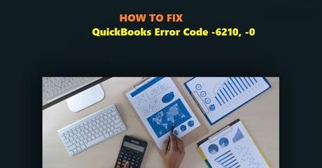 QuickBooks Error Code -6210, -0