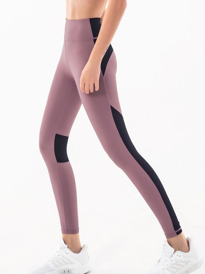 shestar wholesale colorblock high waist activewear workout leggings